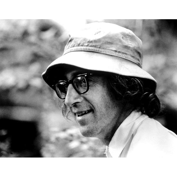 Woody Allen wearing a bucket hat Photo Print. Opens flyout.