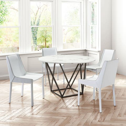 Fashion Dining Chair (Set of 2) White