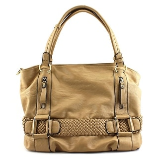 MG Collection Samantha Women Synthetic Tan Hobo - Beige