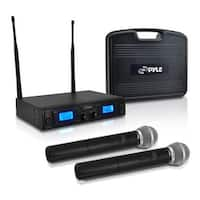 Premier Series 2-Channel UHF Handheld Microphone System with