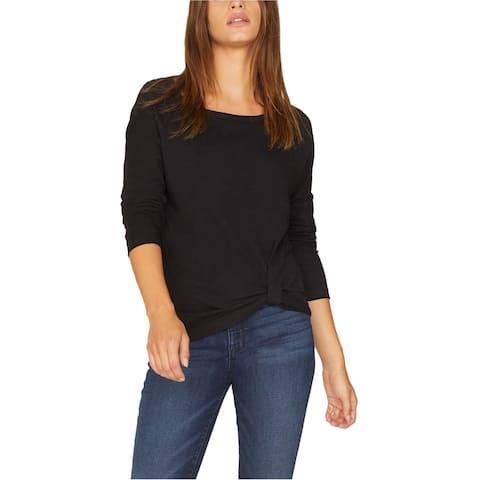 Sanctuary Clothing Womens Side Twist Front Basic T-Shirt