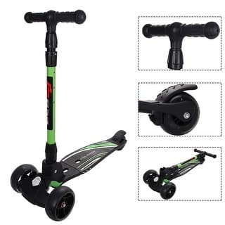 Goplus Folding Aluminum 3 Wheel T-Bar Kick Scooter Adjustable Height LED Flashing Wheel https://ak1.ostkcdn.com/images/products/is/images/direct/89a1c49cda3cefa6226f60d82662b360109ace20/Goplus-Folding-Aluminum-3-Wheel-T-Bar-Kick-Scooter-Adjustable-Height-LED-Flashing-Wheel.jpg?impolicy=medium