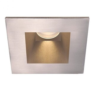 "WAC Lighting HR-3LED-T818PN Tesla PRO 3.5"" LED Square Shower Trim with Narrow Be (More options available)"