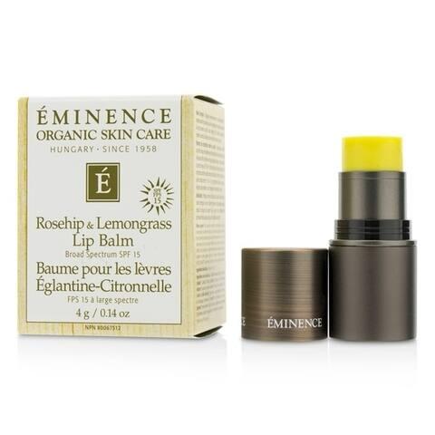Eminence Rosehip & Lemongrass Lip Balm Spf 15 4G/0 14Oz