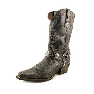 "Durango Gambler 12"" Men Pointed Toe Leather Western Boot"