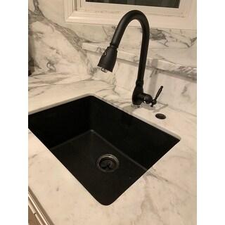 Shop Winpro Black Granite Quartz 25 X 18 1 2 Quot X 9 1 2