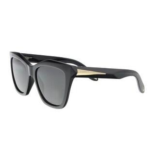 Givenchy GV7008S 0QOL Black Square Sunglasses - 53-17-145