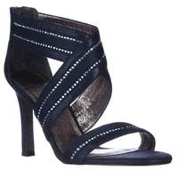 Adrianna Papell Evonne Sparkle Evening Sandals, Midnight - 8.5 us