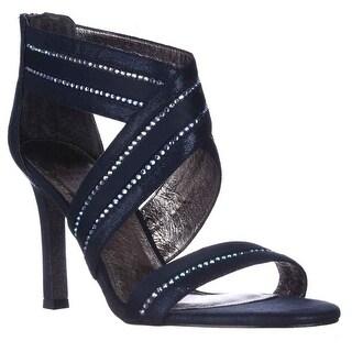 Adrianna Papell Evonne Sparkle Evening Sandals - Midnight
