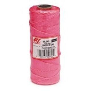 Marshalltown ML340 Braid Mason Line 500', Pink
