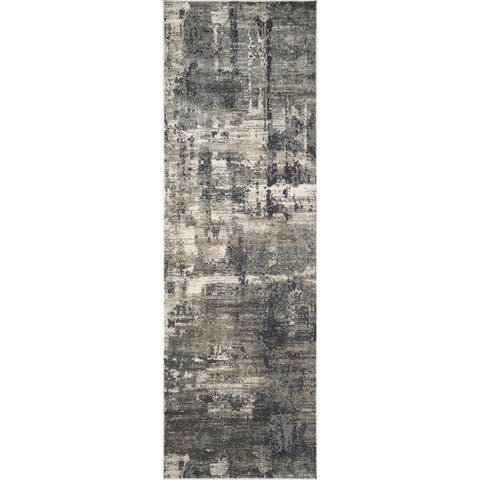 Alexander Home Mid-Century Modern Abstract Area Rug