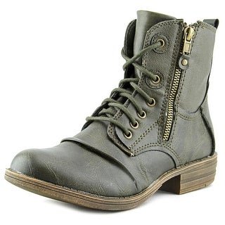 American Rag Bunkker Women Round Toe Synthetic Green Ankle Boot