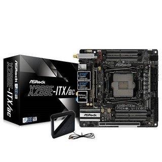 X299E-ITX-AC LGA2066 Intel X299 DDR4 SATA3 & USB 3.1 Mini-ITX