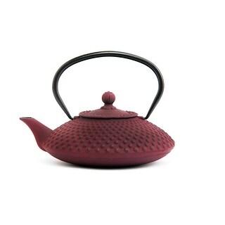 GURO Cast Iron 41 Ounces / 1.2L Purple Japanese Teapot - Hira