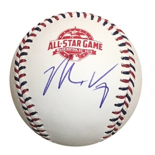 Matt Kemp Los Angeles Dodgers Autographed 2018 All Star Game Signed Baseball PSA DNA COA