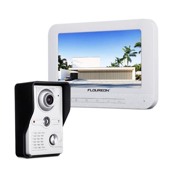 Shop FLOUREON 7 inch Wired TFT LCD Video Doorbell Interphone
