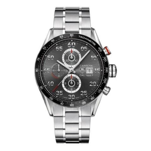 Tag Heuer Men's CAR2A11.BA0796 'Carrera 1887' Chronograph Stainless Steel Watch - Grey