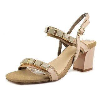 Azura Pure Women  Open-Toe Synthetic  Slingback Heel