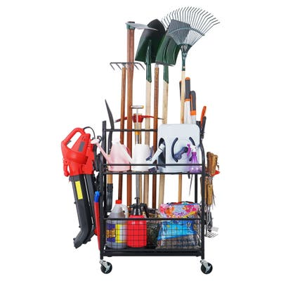 Mythinglogic Garden tools storage Organizer Garden Tool Holders