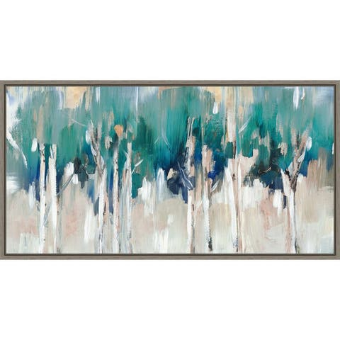 Lineament I by Rebecca Barger Framed Canvas Art