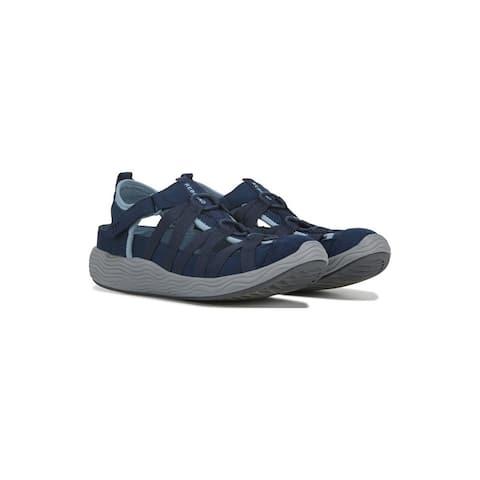 Bare Traps Womens Lakona Fabric Closed Toe Casual Sport Sandals