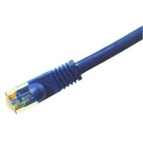 Comprehensive Cat5e 350 Mhz Snagless Patch Cable 100ft Blue