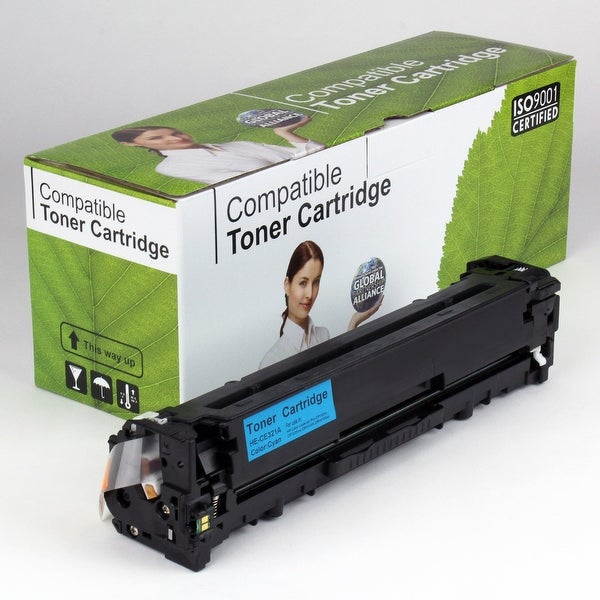 Value Brand replacement for HP 128A Cyan Toner CE321A (1,300 Yield)