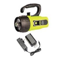 UK Light Cannon eLED (L1) w/ NiMH Battery/Charger, Lantern Grip, Box Dive Light - Yellow
