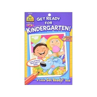 School Zone LGR Get Ready For Kindergarten Bk