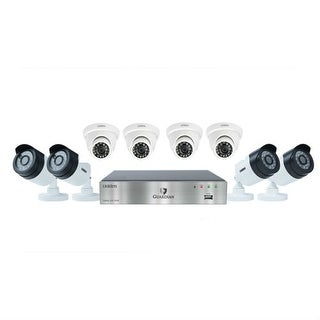 """UNIDEN G7844D2 Wired DVR Security Camera System w/ 4 1080P Bullet Cameras, 4 1080P Dome Cameras and 2 TB HDD"""