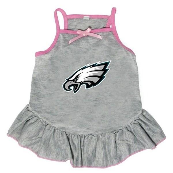 Shop Little Earth NFL Pet Dress Gray f53aeedc1