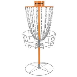 Driftsun Typhoon Disc Golf Basket - Portable Heavy Duty Disc Golf Practice Goal Target