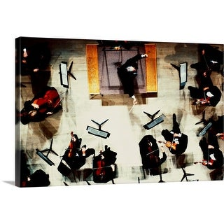 """Overhead View of Symphony Orchestra"" Canvas Wall Art"