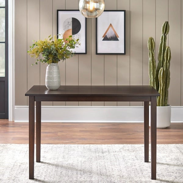 Simple Living Shaker Dining Table. Opens flyout.