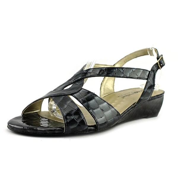 Walking Cradles Dixie Women W Open Toe Leather Blue Sandals