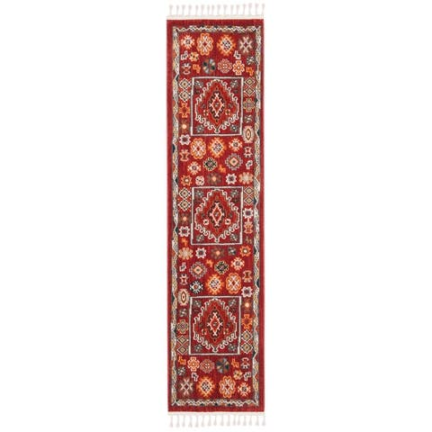 Safavieh Farmhouse Holli Boho Tribal Polyester Rug