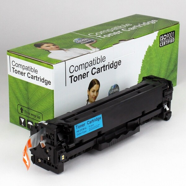 Value Brand replacement for HP 312A Cyan Toner CF381A (2,700 Yield)