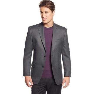 Michael Kors Classic Fit Charcoal Herringbone Sportcoat Blazer 38 Regular 38R
