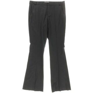 Parker Womens Wool Solid Dress Pants