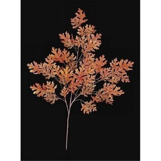 Autograph Foliages PR-400OR - 38 Inch Pin Oak Branch - Orange - Dozen