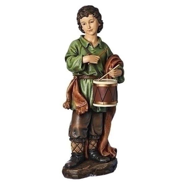 "39"" Joseph Studio Brown and Green Little Drummer Boy Christmas Figure"