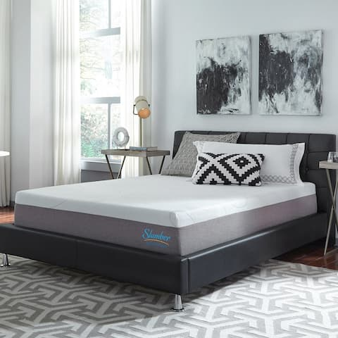 Slumber Solutions 12-inch Gel Memory Foam Choose Your Comfort Mattress