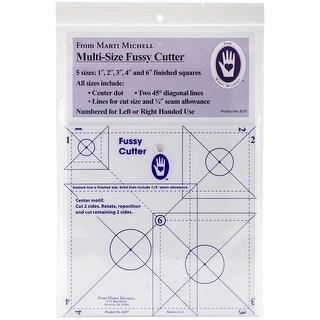 Multisize Fussy Cutter Ruler-