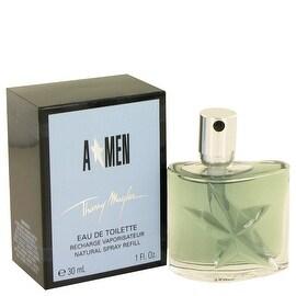 ANGEL by Thierry Mugler Eau De Toilette Spray Refill 1 oz - Men
