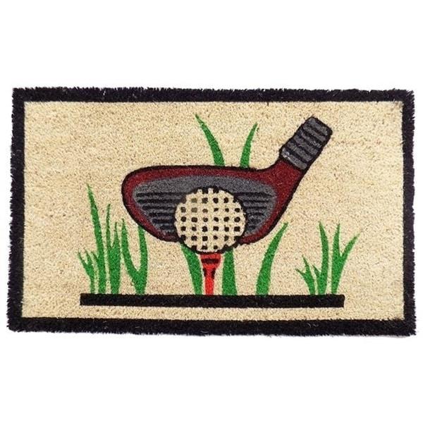 Imports Decor 541PVC Golf Door Mat