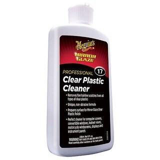 Meguiars M1708 M17 Mirror Glaze Clear Plastic Cleaner