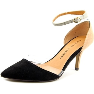 Chinese Laundry Off Limits Women  Pointed Toe Synthetic Black Heels