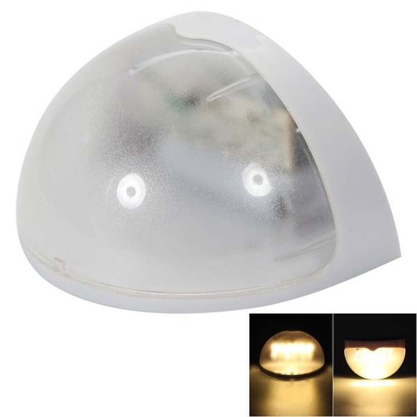 N760B 6-LED Warm White Light Waterproof Wall Mounted Solar Lamp (Pack of 4). Opens flyout.