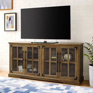 The Gray Barn 58-inch Farmhouse 4-Door TV Console