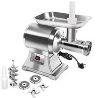 Gymax Commercial 1.5HP Electric Meat Grinder 1100W Stainless Steel Heavy Duty #22